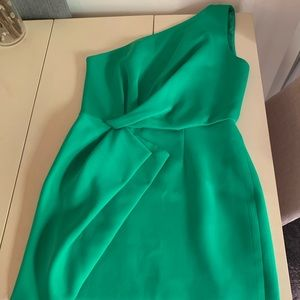 Jade green Halston Heritage dress